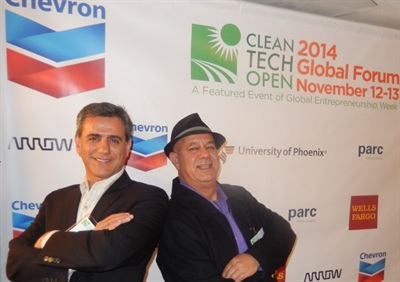 LED Trail at CleanTech Open